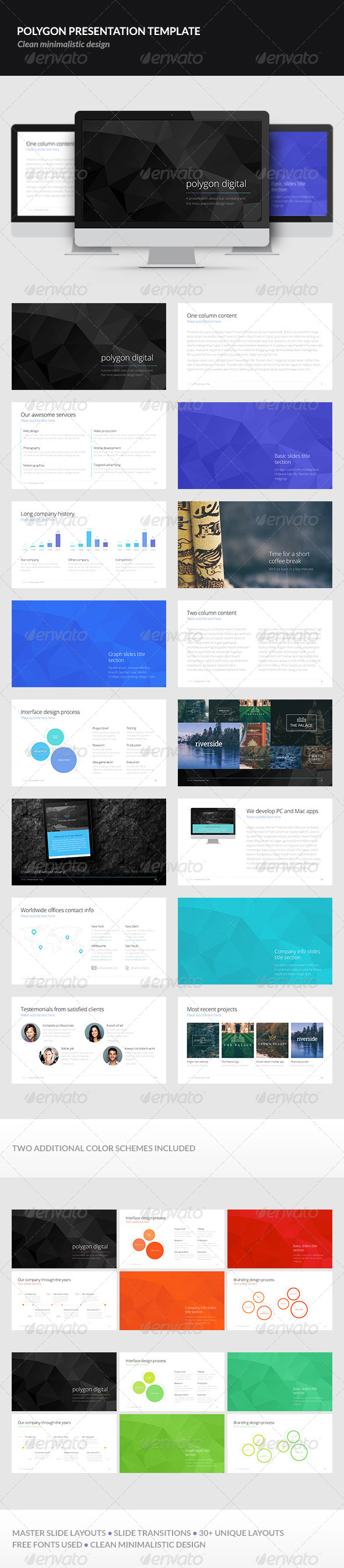 GraphicRiver Polygon Presentation Template 7322858