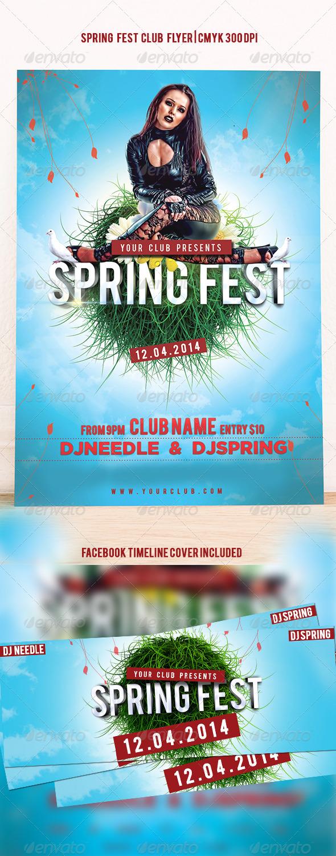 GraphicRiver Spring Fest 7361473