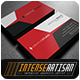 IntenseArtisan Business Card Vol.55 - GraphicRiver Item for Sale