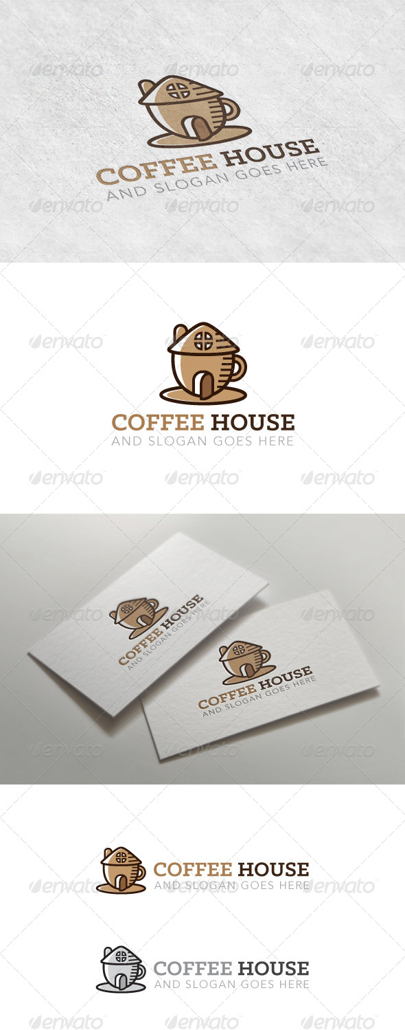 GraphicRiver Coffee House Logo 7373529