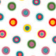 Circles Doodles Abstract Pattern Background - GraphicRiver Item for Sale