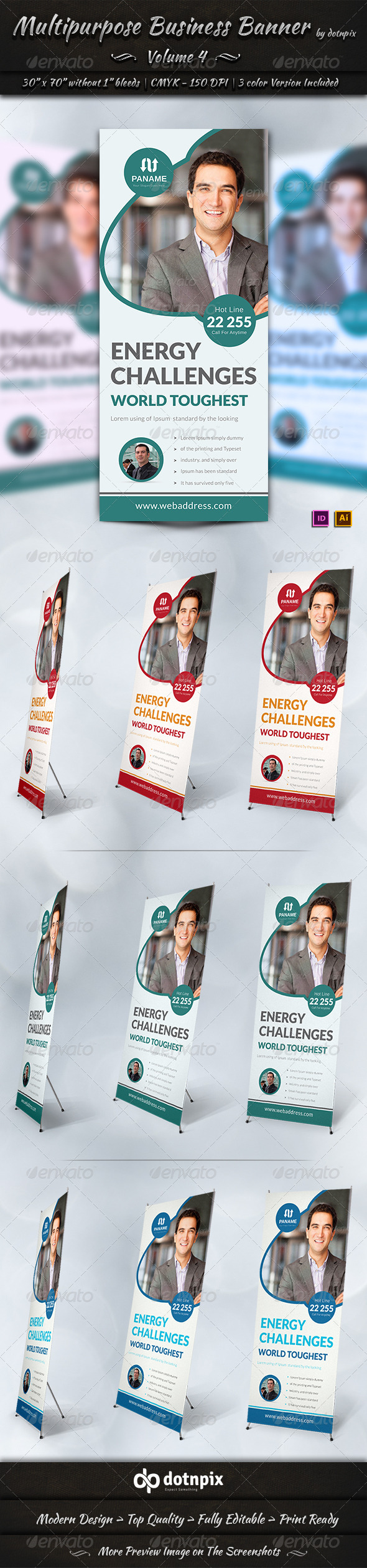 GraphicRiver Multipurpose Business Banner Volume 4 7374018