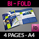 Company Brochure Bi-Fold Template Vol.22 - GraphicRiver Item for Sale