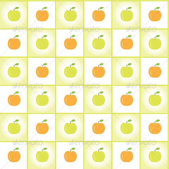 GraphicRiver Apples Pattern 7374227