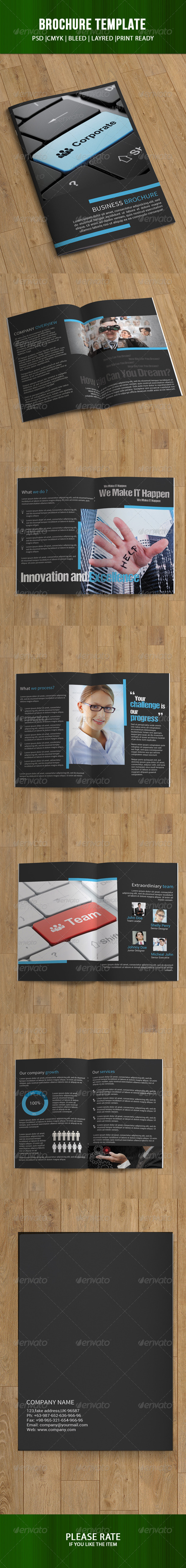 GraphicRiver Business Brochure-12 Pages 7374374