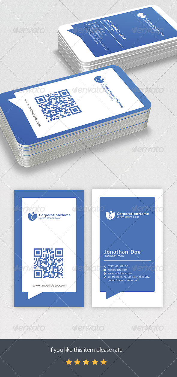 GraphicRiver Corporate Business Cards Design 7361691