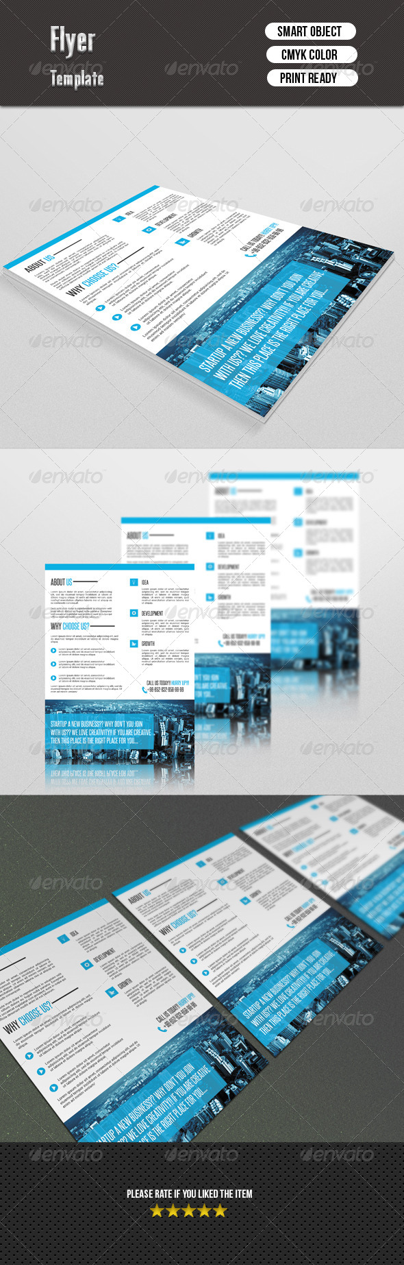 GraphicRiver Corporate Flyer 7374581