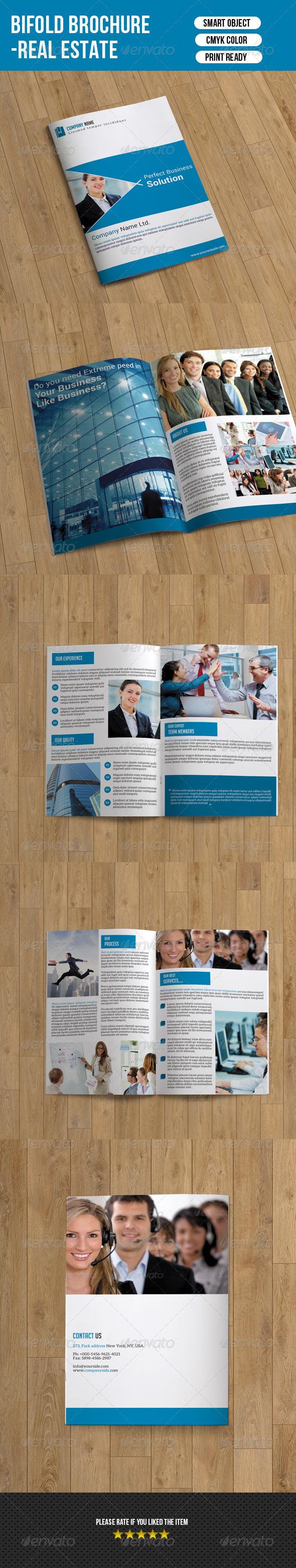 GraphicRiver Bifold Business Brochure 7374609