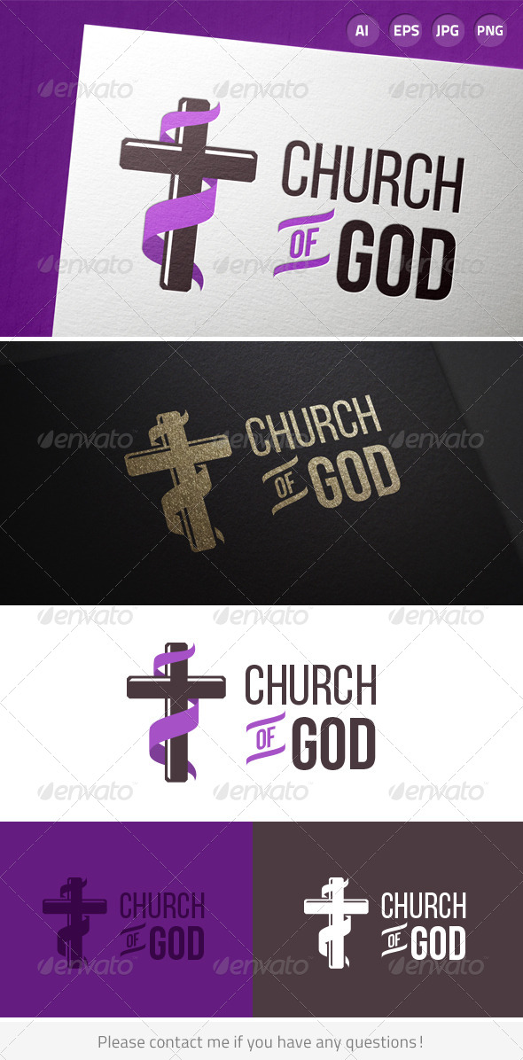 GraphicRiver Church of God 7374708