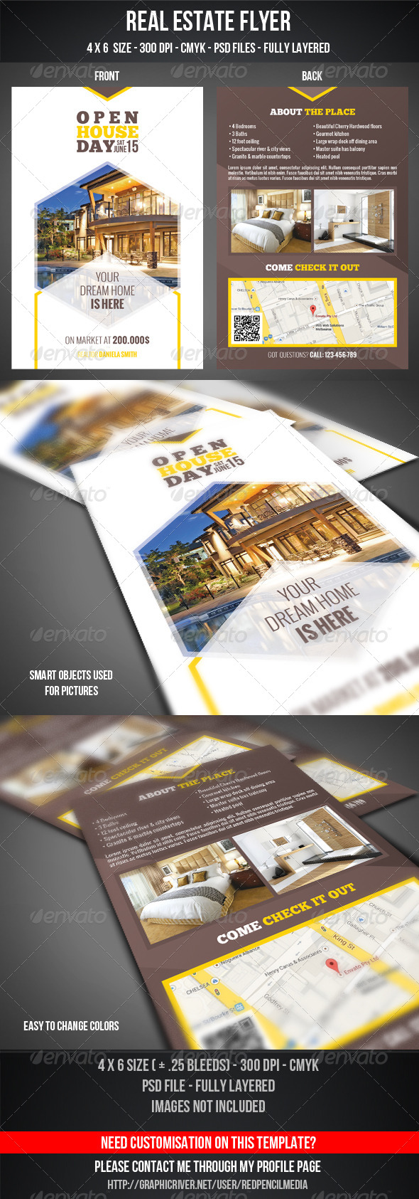 GraphicRiver Real Estate Flyer 7375795