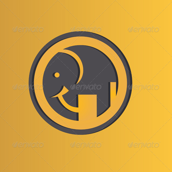 GraphicRiver Icon Elephant 7375820