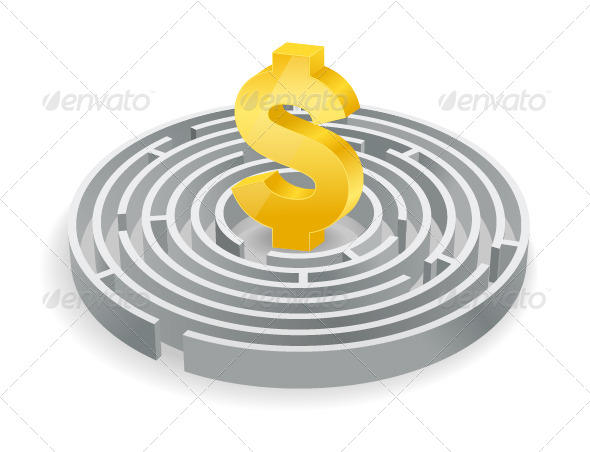 GraphicRiver Finance Maze 7376018
