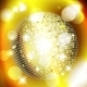 Golden Background with Disco Ball - GraphicRiver Item for Sale