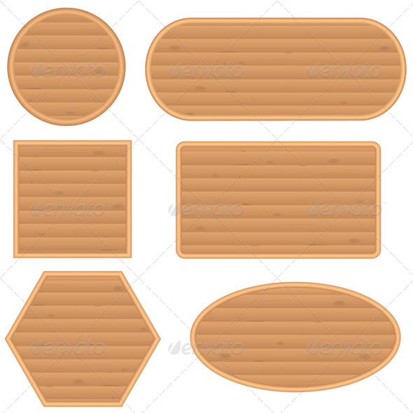 GraphicRiver Wooden Buttons 7376481
