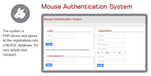 CodeCanyon Mouse Authentication System 7279996