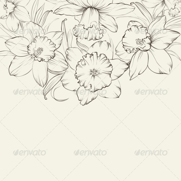 GraphicRiver Ornate Greeting Card Design 7376503