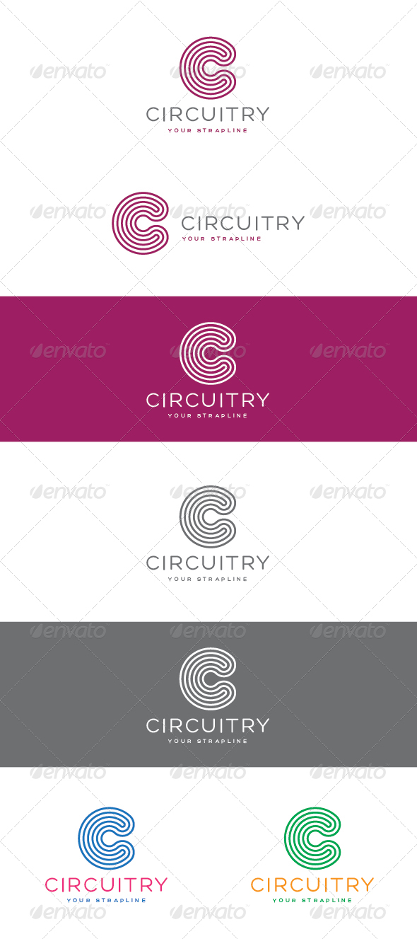 GraphicRiver Circuitry Logo 7376611