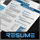 4-Piece Power Resume - GraphicRiver Item for Sale