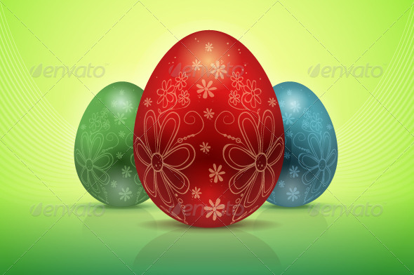 GraphicRiver Easter Eggs 7376917