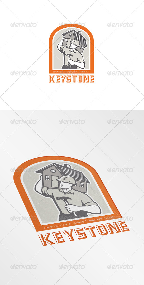 GraphicRiver Keystone Construction Company Logo 7376939