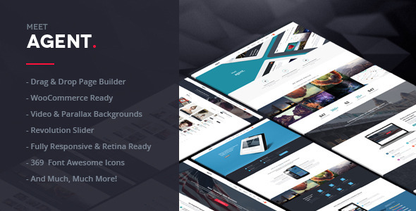 ThemeForest Agent A Creative Multi-Purpose WordPress Theme 7287766