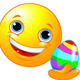 Emoticon Coloring Easter Egg - GraphicRiver Item for Sale