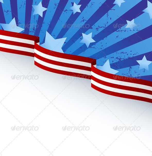 GraphicRiver USA Flag Theme 7377839