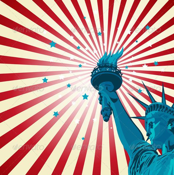 GraphicRiver Statue of Liberty 7377841