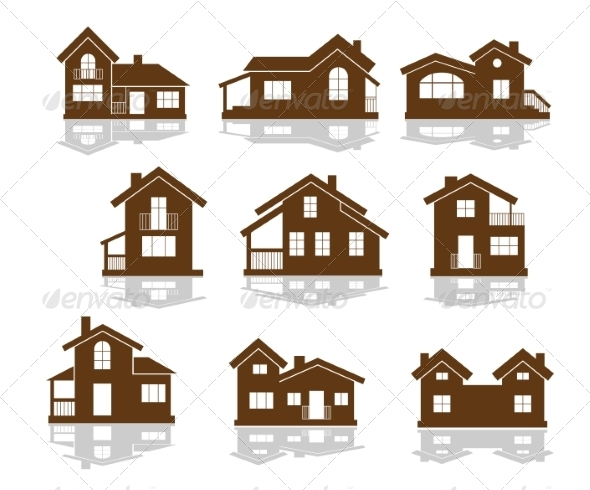 GraphicRiver Set of Apartment House Icons 7377878