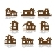 Set of Apartment House Icons - GraphicRiver Item for Sale