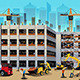 Building Construction Scene - GraphicRiver Item for Sale