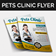 Pets Clinic Flyer - GraphicRiver Item for Sale