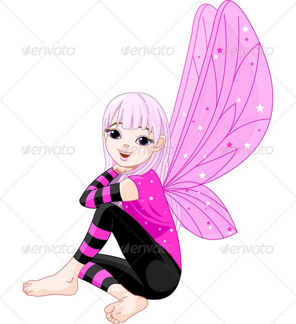 GraphicRiver Little Emo Fairy 7381790