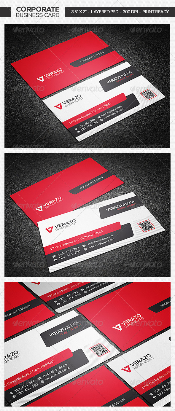 GraphicRiver Creative Corporate Business Card 19 7381799