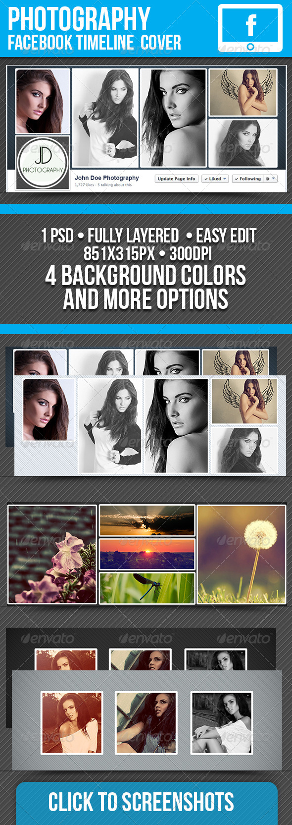 GraphicRiver Fashion Facebook Timeline Cover 7381896