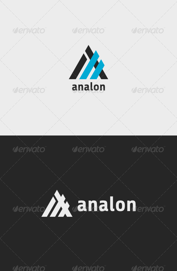 GraphicRiver Analon Logo 7382358