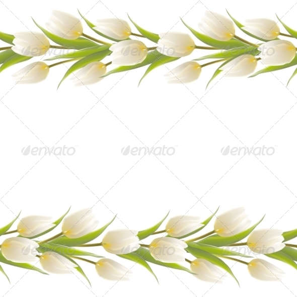 GraphicRiver Tulip Spring Flowers Bouquet 7382440