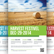 Harvest Festival Flyer Template - GraphicRiver Item for Sale