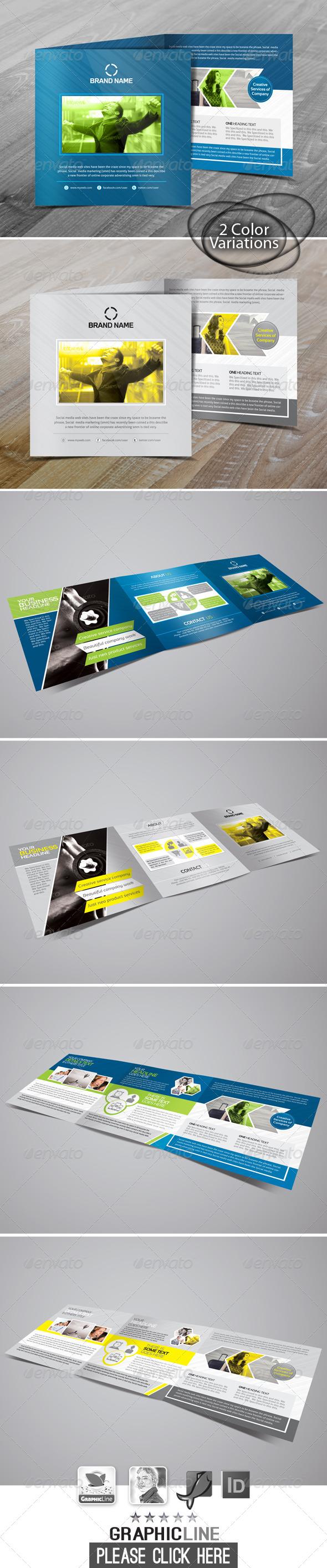 GraphicRiver Clean Creative Tri-Fold Business Brochure 7383010