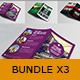 Bumdle 3x Indesign Brochure A4 to A5 - GraphicRiver Item for Sale