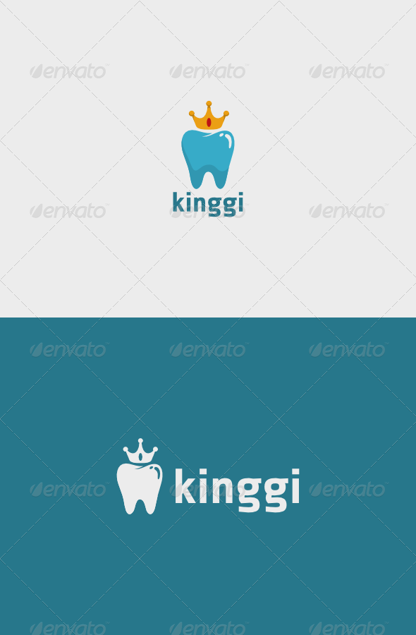 GraphicRiver King Tooth Logo 7383061