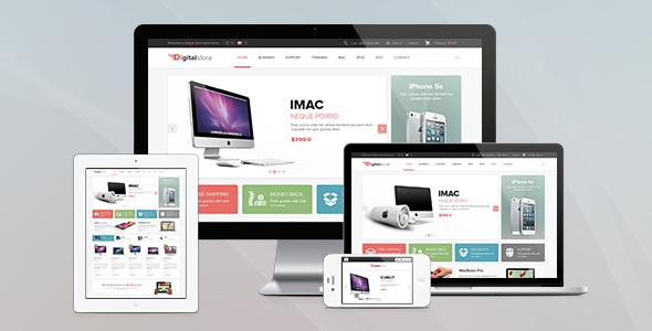 ThemeForest Ves Digital Store Responsive Magento Theme 7383119