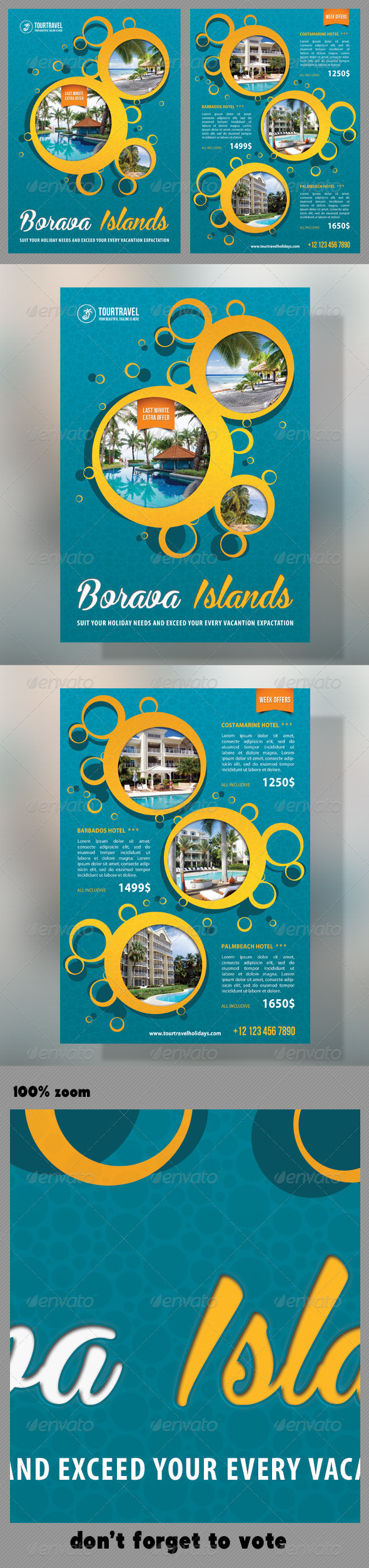 GraphicRiver Travel Agency Corporate Flyer 10 7383296
