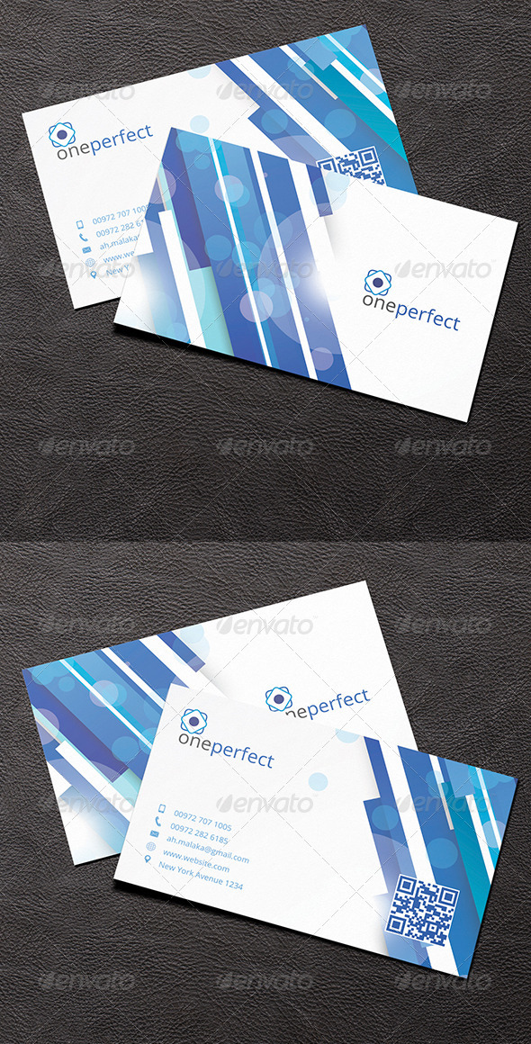 GraphicRiver Corporate Business Card 7383356