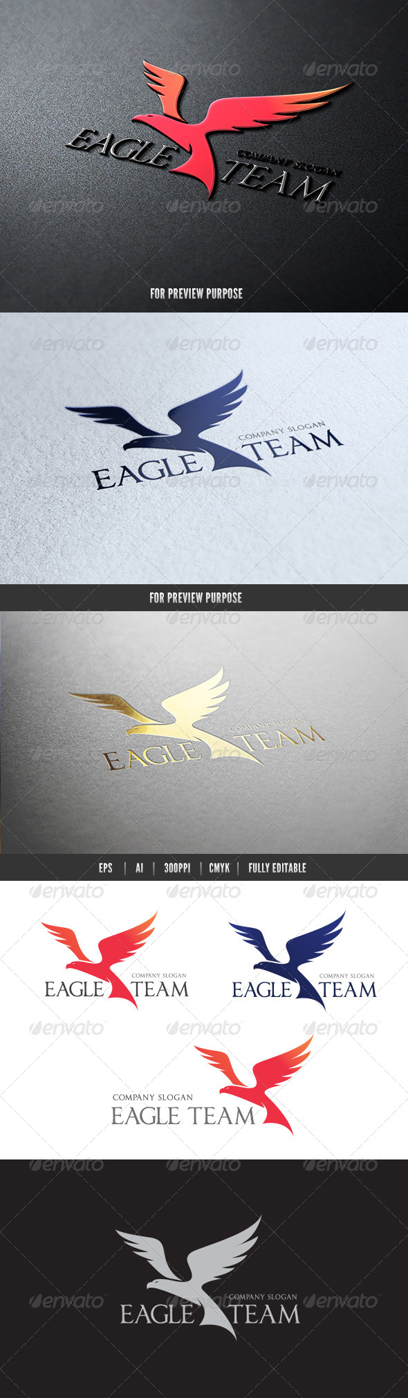 GraphicRiver Eagle Team 7383357