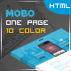 Mobo - One Page App Landing Page - ThemeForest Item for Sale