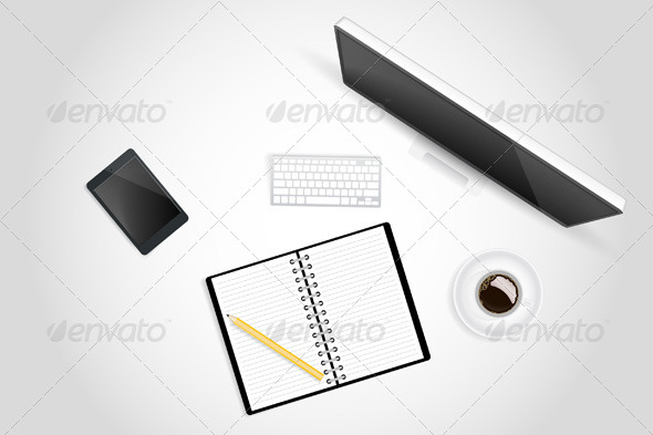 GraphicRiver Creative Workspace 7383427