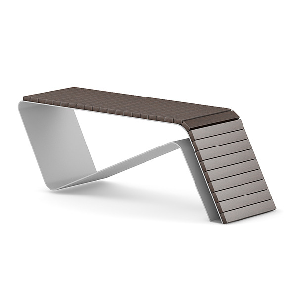 3DOcean Wooden Bench 1 7383521