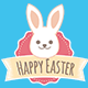 Easter Badges - GraphicRiver Item for Sale