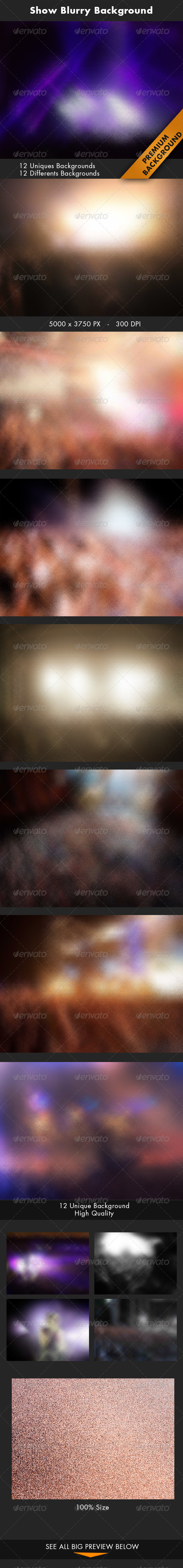 GraphicRiver Show Blurry Background 7383657